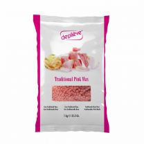 SALE - DEPILÈVE Traditional Pink Wax - 1000 g Perlen