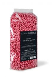 Pink Cream Film Wax Perlen - 500 g